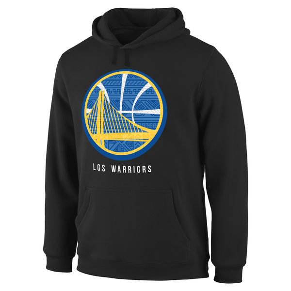 Men Golden State Warriors Noches Enebea Pullover Hoodie Black
