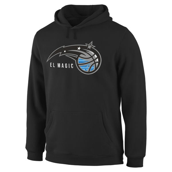Men Orlando Magic Noches Enebea Pullover Hoodie Black