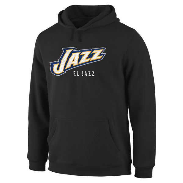 Men Utah Jazz Noches Enebea Pullover Hoodie Black