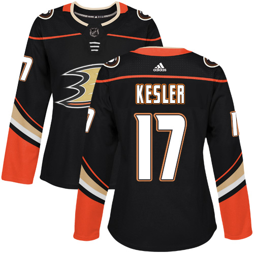 Adidas Anaheim Ducks 17 Ryan Kesler Black Home Authentic Womens Stitched NHL Jersey