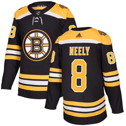 Adidas Boston Bruins 8 Cam Neely Black Home Authentic Youth Stitched NHL Jersey
