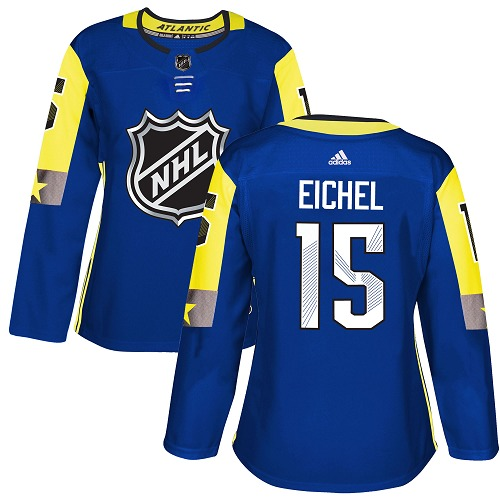 Adidas Buffalo Sabres 15 Jack Eichel Royal 2018 All-Star Atlantic Division Authentic Women Stitched NHL Jersey