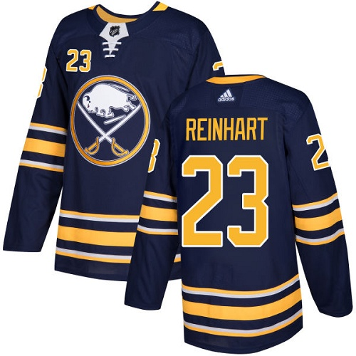 Adidas Buffalo Sabres 23 Sam Reinhart Navy Blue Home Authentic Youth Stitched NHL Jersey