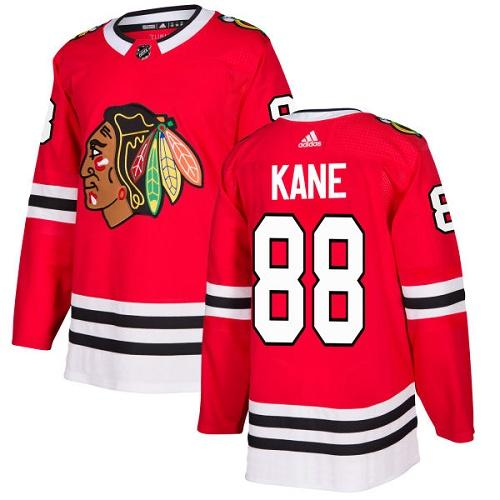 Adidas Chicago Blackhawks 88 Patrick Kane Red Home Authentic Stitched Youth NHL Jersey