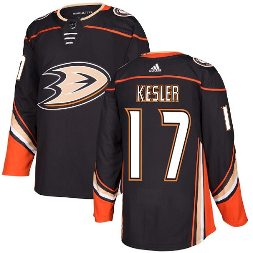 Adidas Men Anaheim Ducks 17 Ryan Kesler Black Home Authentic Stitched NHL Jersey