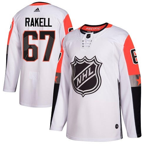 Adidas Men Anaheim Ducks 67 Rickard Rakell White 2018 All-Star Pacific Division Authentic Stitched NHL Jersey