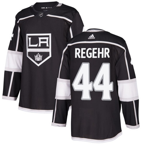 Adidas Men Los Angeles Kings 44 Robyn Regehr Black Home Authentic Stitched NHL Jersey