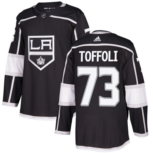 Adidas Men Los Angeles Kings 73 Tyler Toffoli Black Home Authentic Stitched NHL Jersey