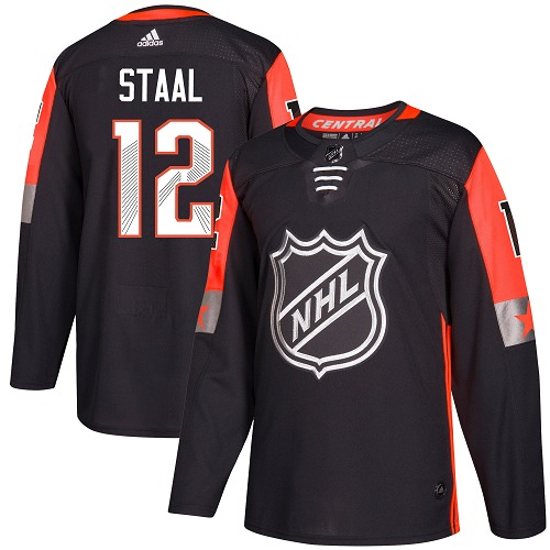 Adidas Men Minnesota Wild 12 Eric Staal Black 2018 All-Star NHL Jersey