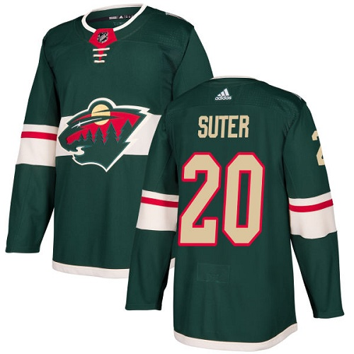 Adidas Minnesota Wild 20 Ryan Suter Green Home Authentic Stitched Youth NHL Jersey