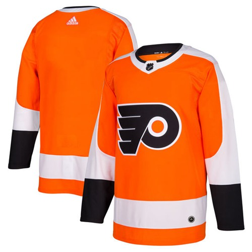 Adidas Philadelphia Flyers Blank Orange Home Authentic Stitched Youth NHL Jersey