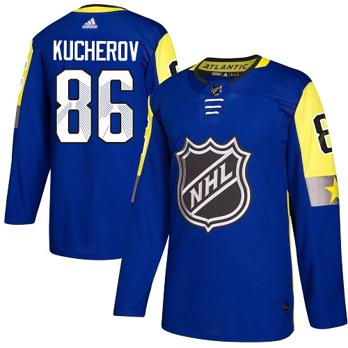 Adidas Tampa Bay Lightning 86 Nikita Kucherov Royal 2018 All-Star Atlantic Division Authentic Stitched Youth NHL Jersey