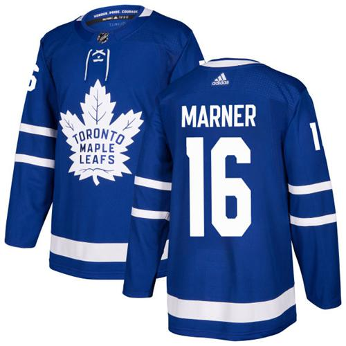 Adidas Toronto Maple Leafs 16 Mitchell Marner Blue Home Authentic Stitched Youth NHL Jersey
