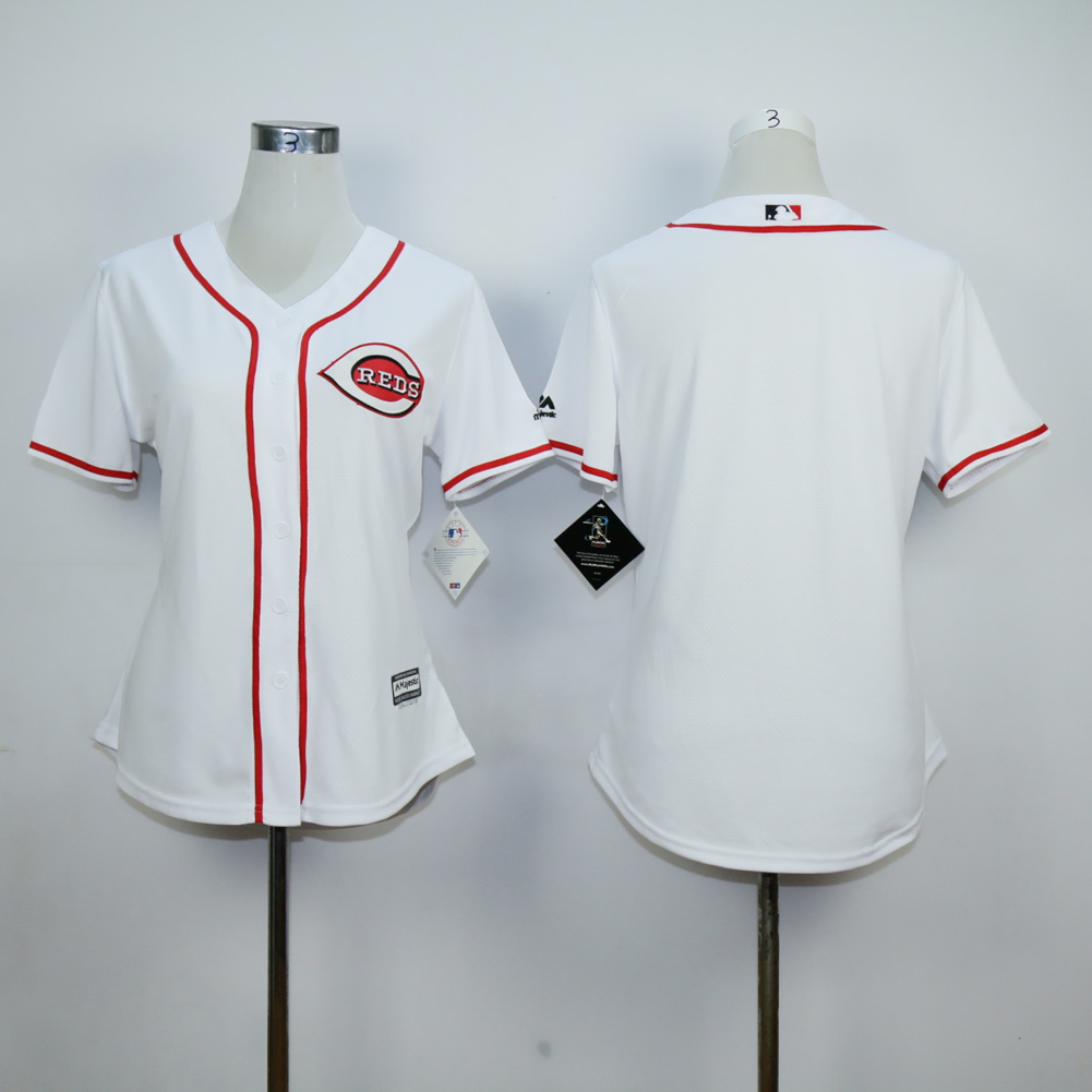 MLB Cincinnati Reds Women black jerseys