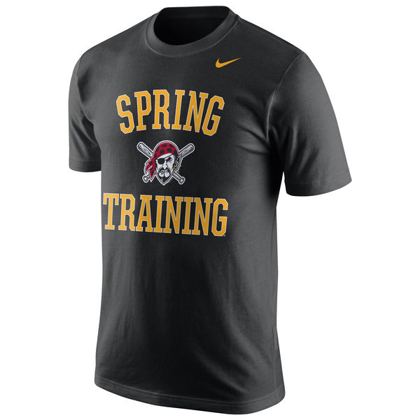 MLB Men Pittsburgh Pirates Nike Spring Training Local Phrase TShirt Black