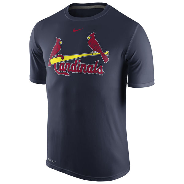 MLB Men St. Louis Cardinals Nike Legend Wordmark 1.5 Performance TShirt Navy