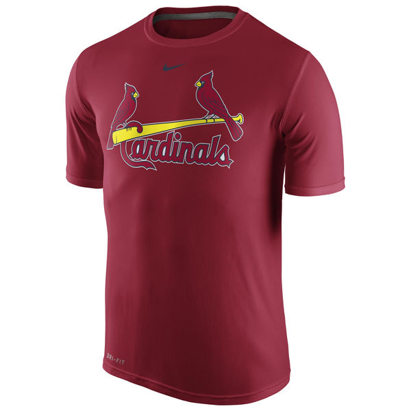 MLB Men St. Louis Cardinals Nike Legend Wordmark 1.5 Performance TShirt Red