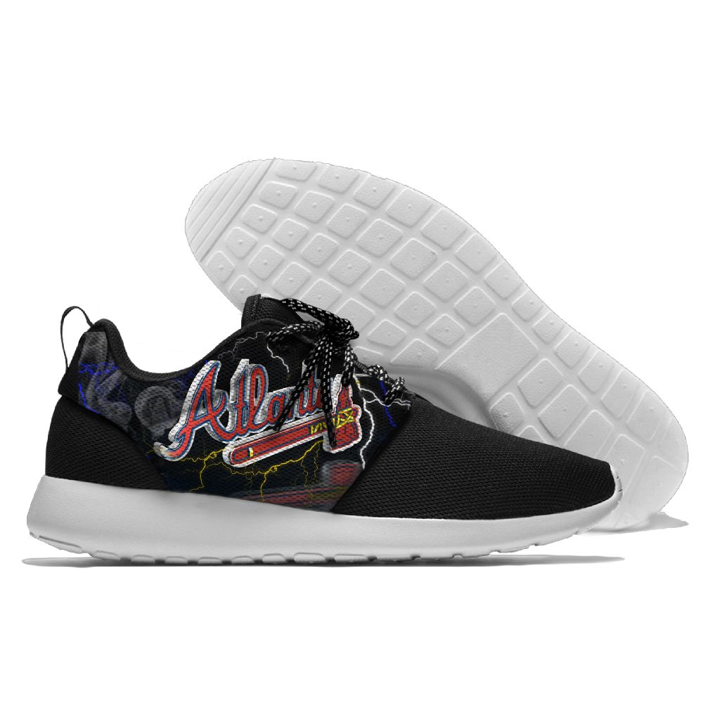 Men Atlanta Braves Roshe style Lightweight Running shoes 2