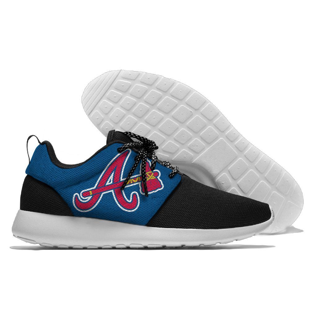 Men Atlanta Braves Roshe style Lightweight Running shoes 4