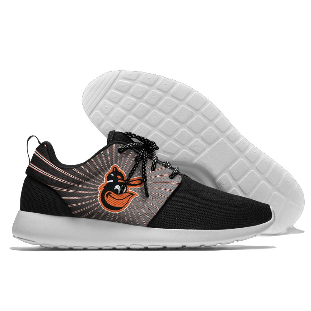 Men Baltimore Orioles Roshe style Lightweight Running shoes 4