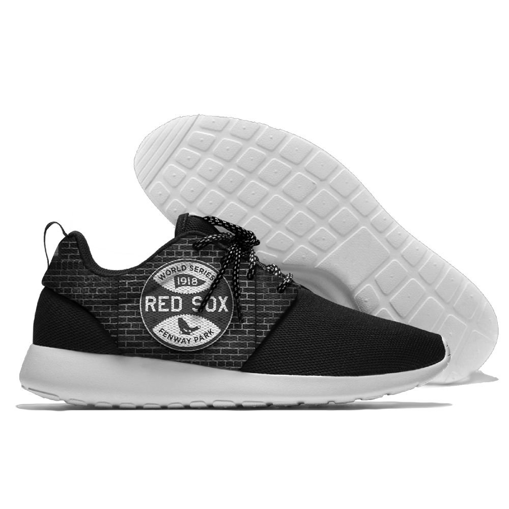 Men Boston Red Sox Roshe style Lightweight Running shoes 4