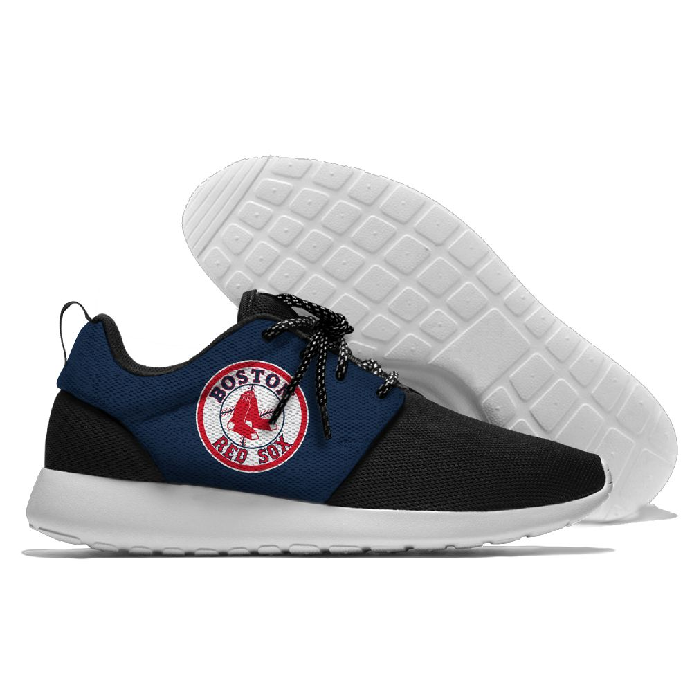 Men Boston Red Sox Roshe style Lightweight Running shoes