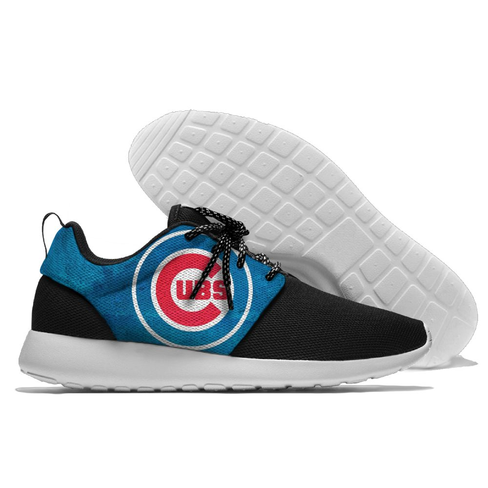 Men Chicago Cubs Roshe style Lightweight Running shoes 2
