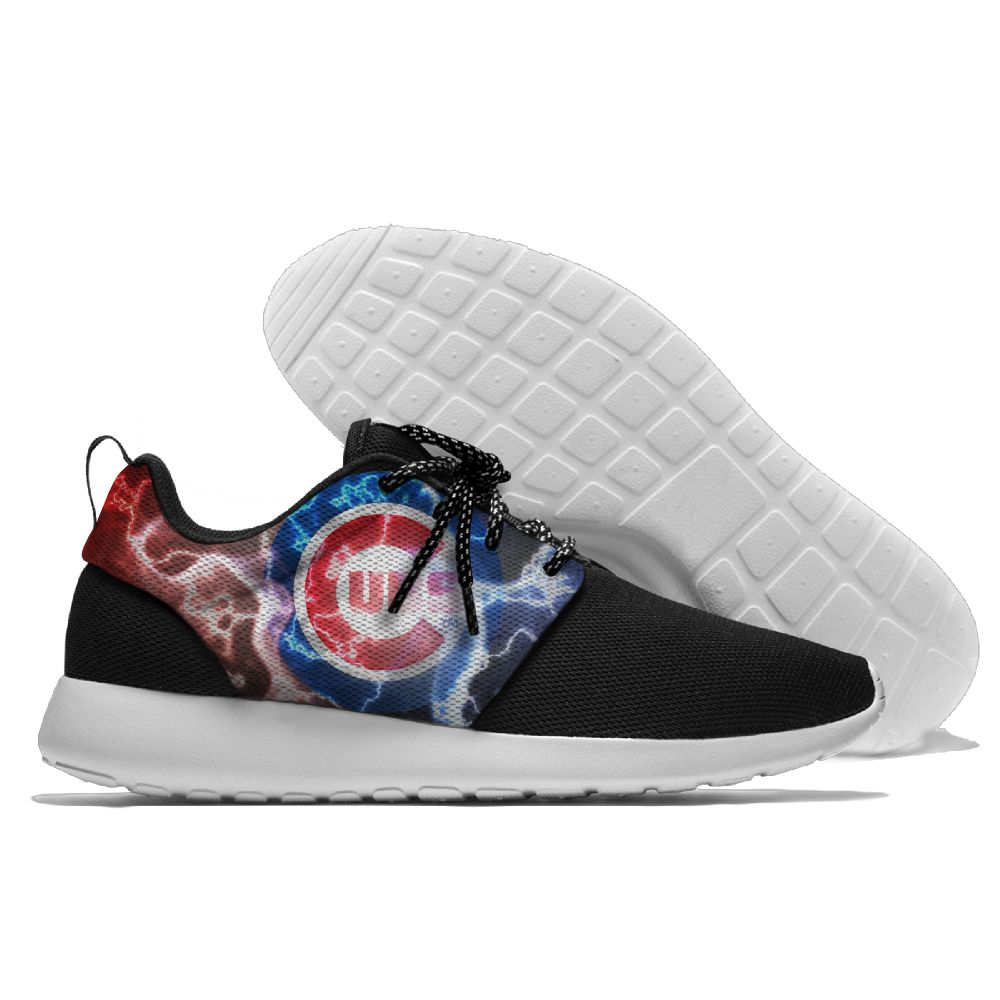 Men Chicago Cubs Roshe style Lightweight Running shoes 3