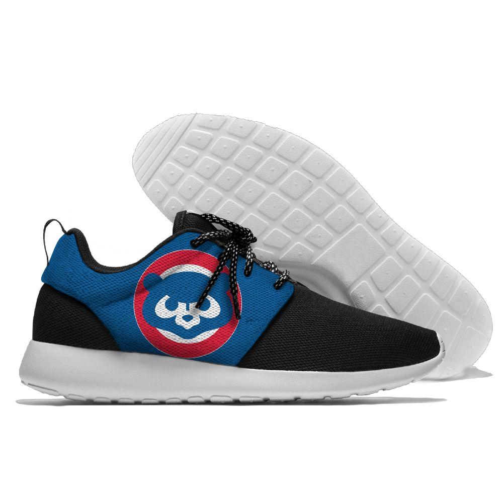 Men Chicago Cubs Roshe style Lightweight Running shoes 5