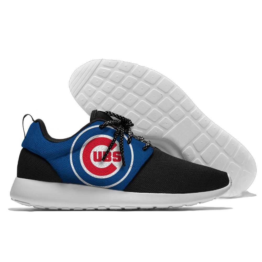 Men Chicago Cubs Roshe style Lightweight Running shoes4