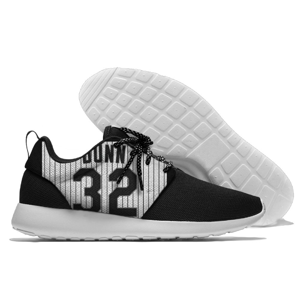 Men Chicago White Sox Roshe style Lightweight Running shoes 3