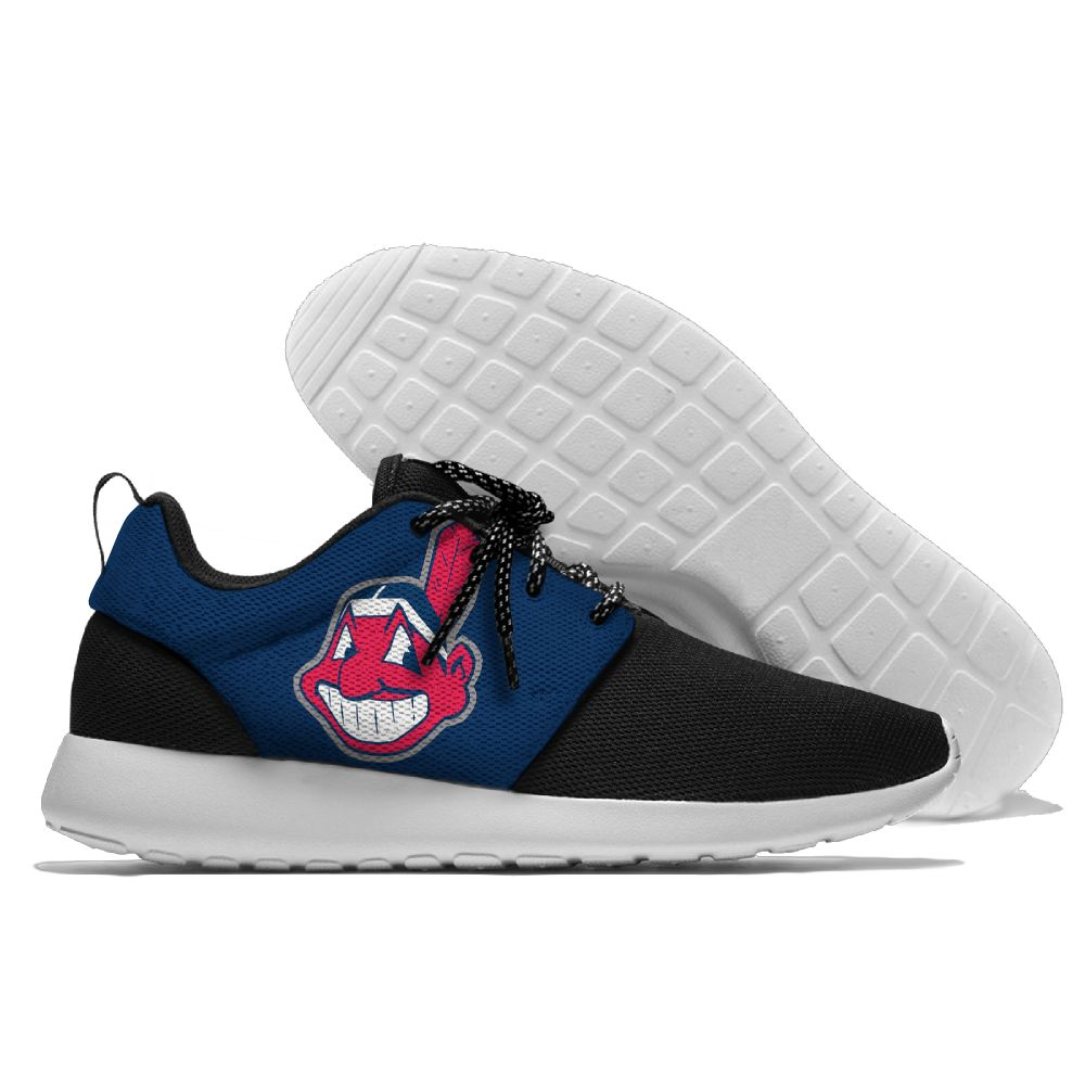Men Cleveland Indians Roshe style Lightweight Running shoes
