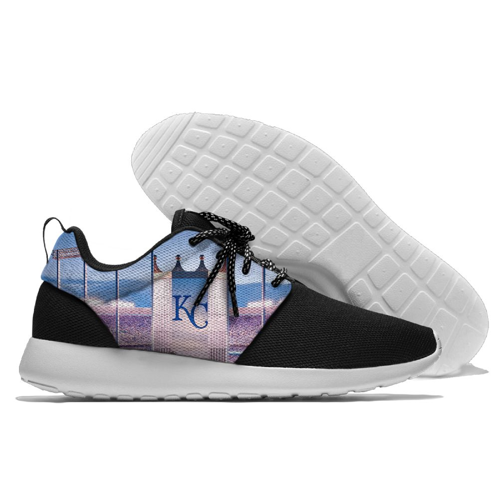 Men Kansas City Royals Roshe style Lightweight Running shoes 3