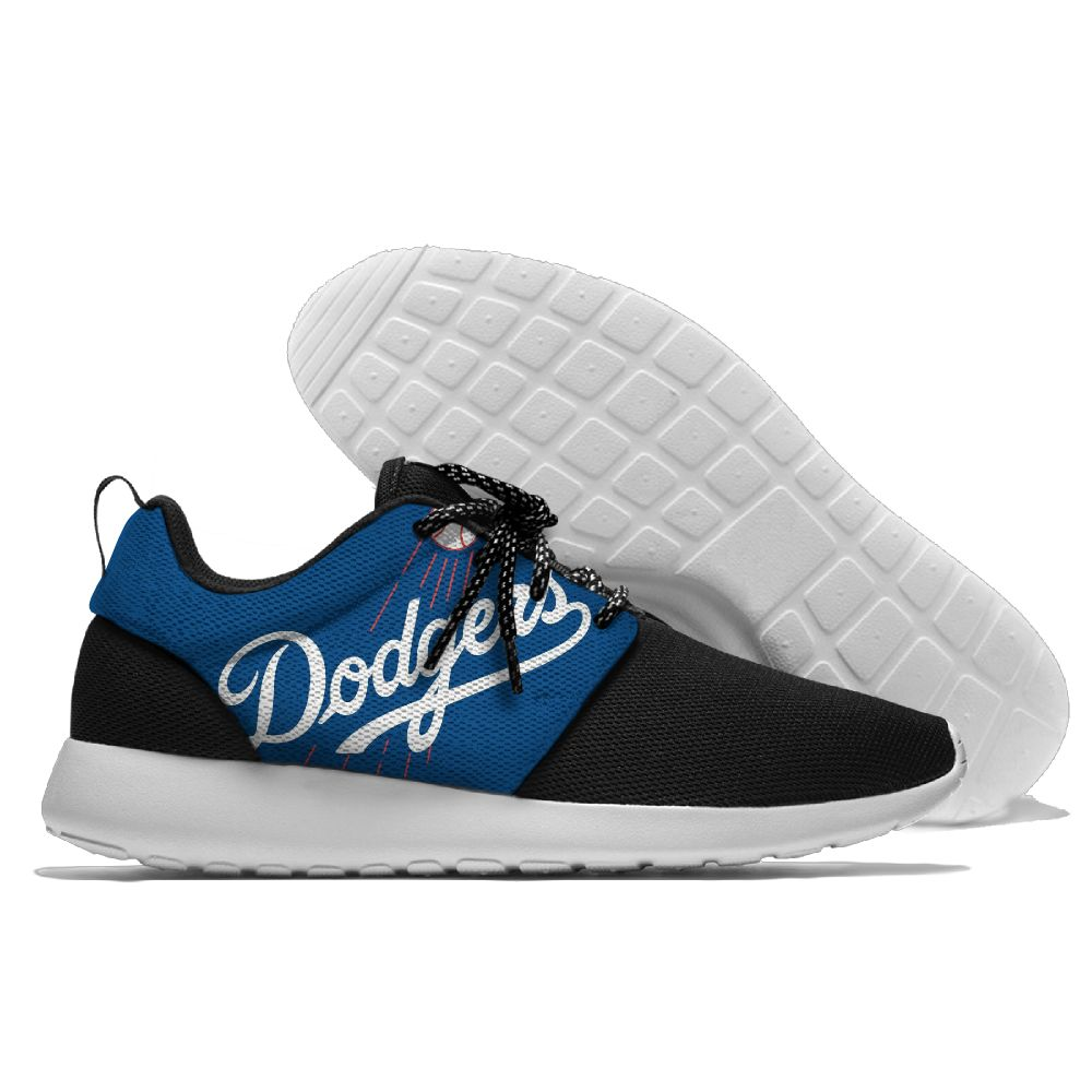 Men Los Angeles Dodgers Roshe style Lightweight Running shoes 4