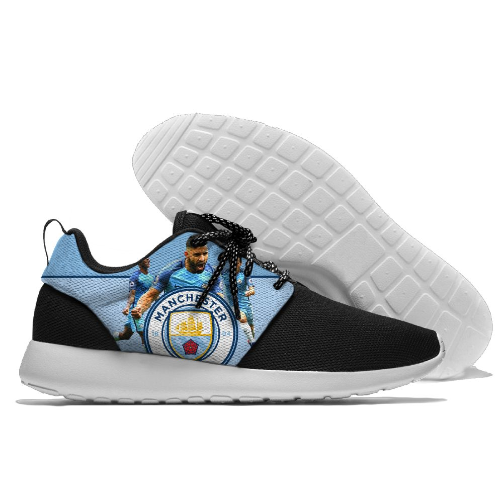 Men Manchester City Roshe style Lightweight Running shoes 6