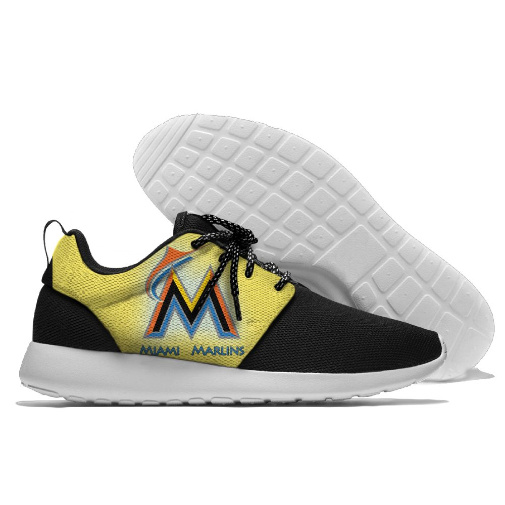 Men Miami Marlins Roshe style Lightweight Running shoes 1