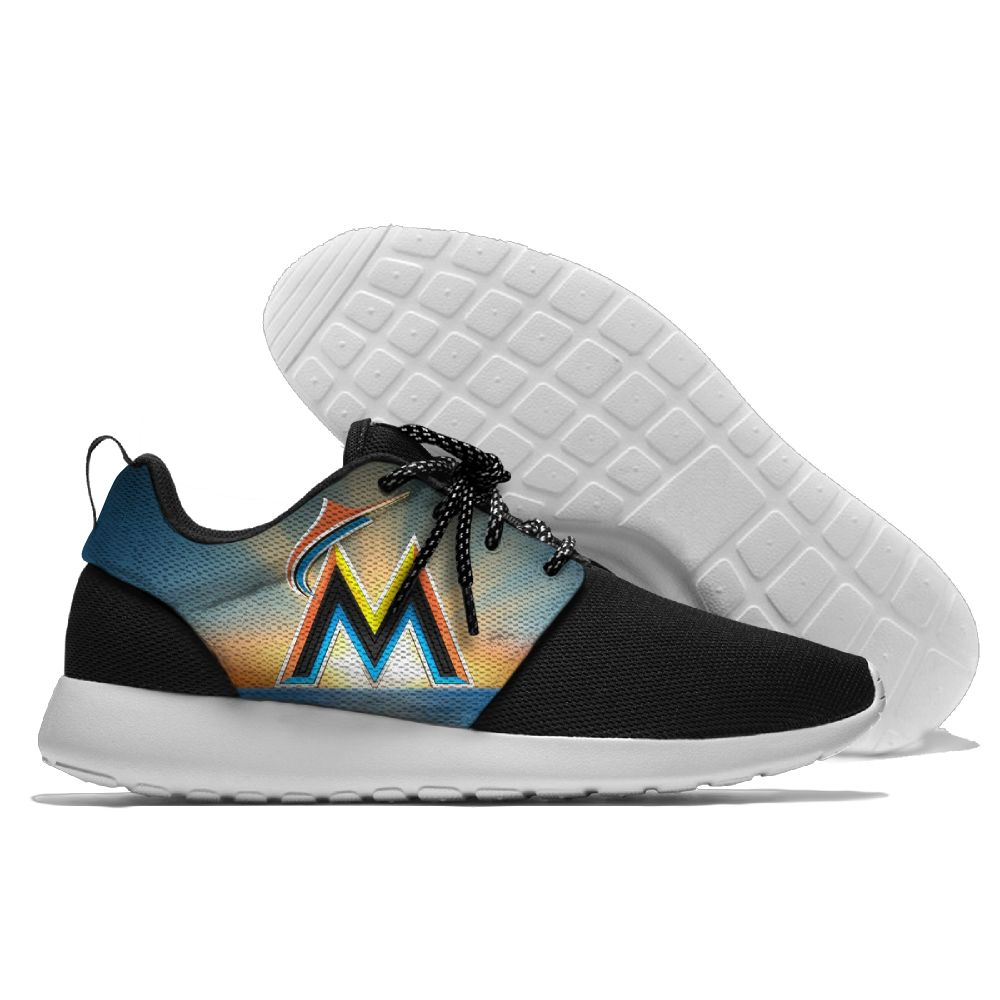 Men Miami Marlins Roshe style Lightweight Running shoes 5