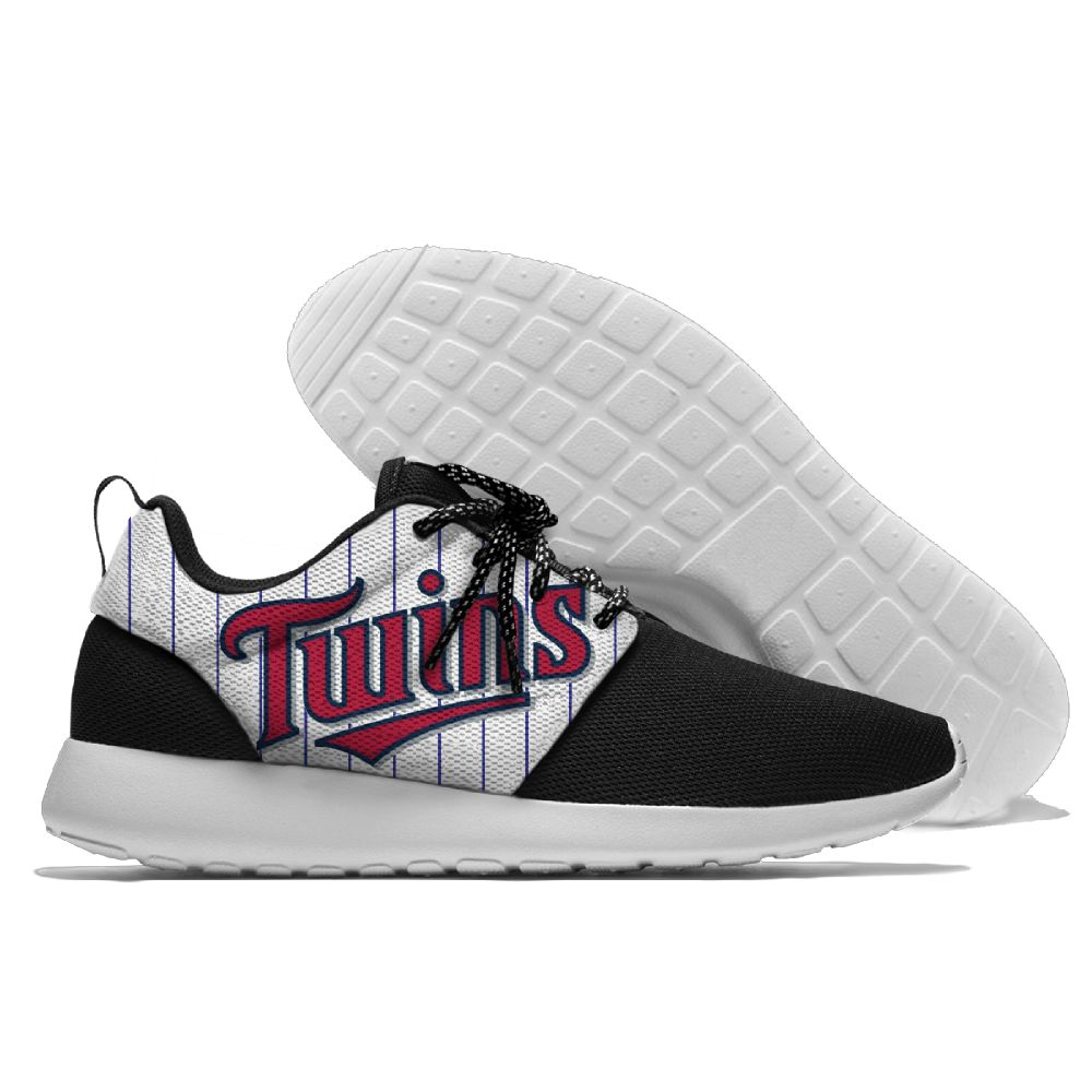 Men Minnesota Twins Roshe style Lightweight Running shoes 1