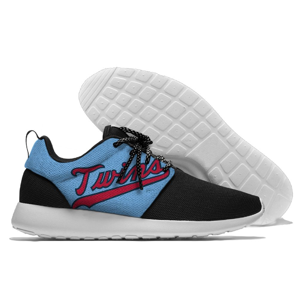 Men Minnesota Twins Roshe style Lightweight Running shoes 2