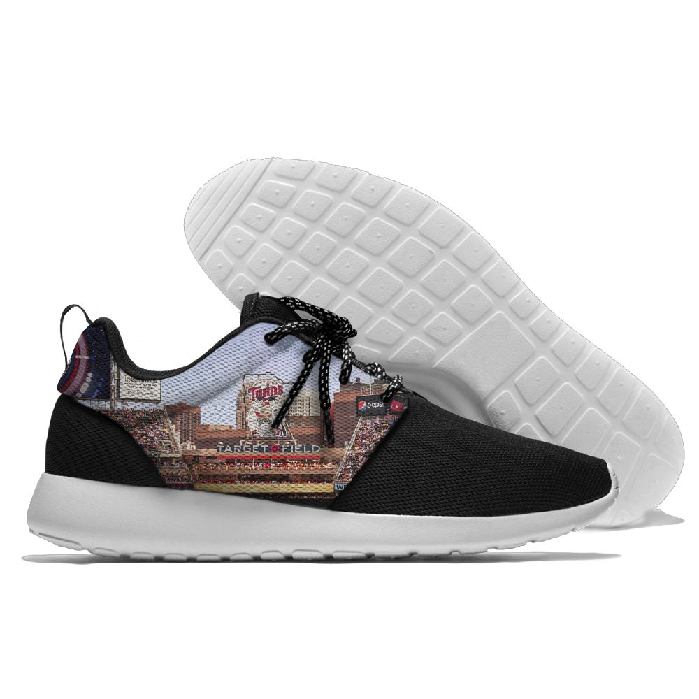 Men Minnesota Twins Roshe style Lightweight Running shoes 3