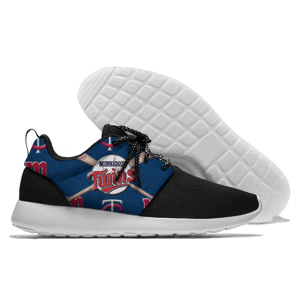 Men Minnesota Twins Roshe style Lightweight Running shoes 5