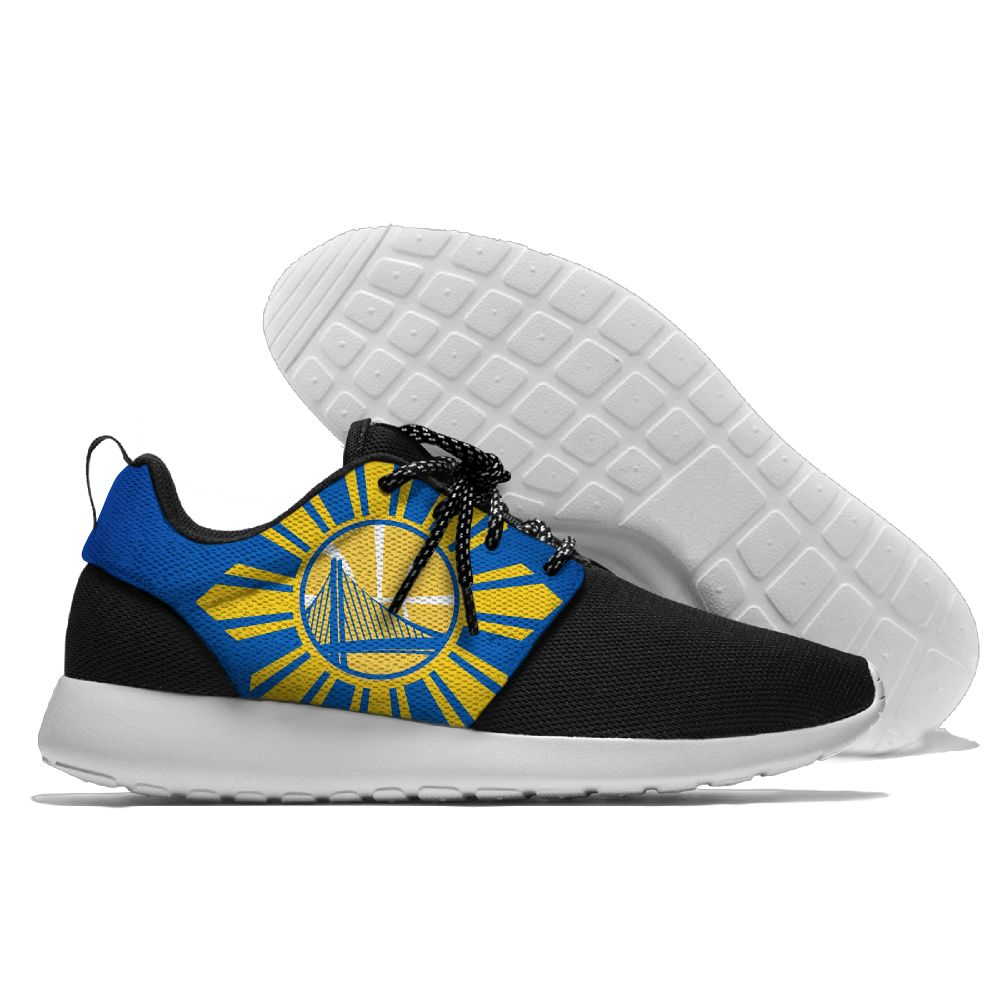 Men NBA golded state warriors Roshe style Lightweight Running shoes 1