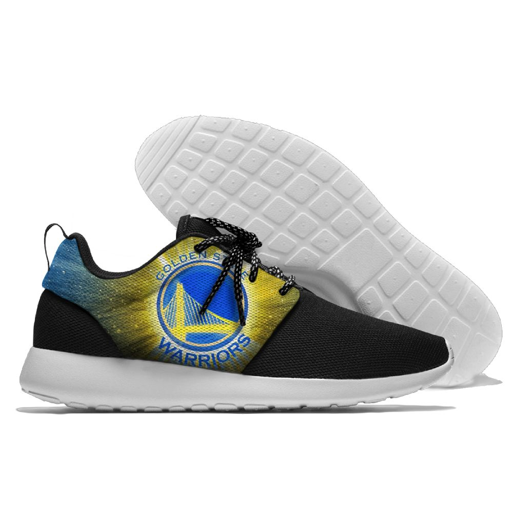 Men NBA golded state warriors Roshe style Lightweight Running shoes 10