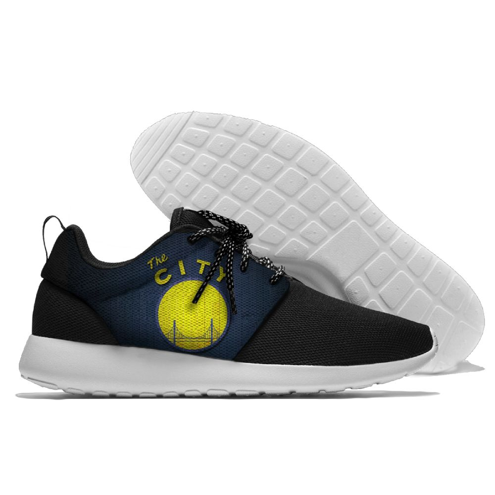 Men NBA golded state warriors Roshe style Lightweight Running shoes 11