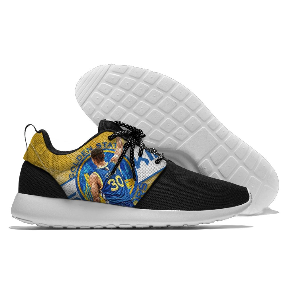 Men NBA golded state warriors Roshe style Lightweight Running shoes 2