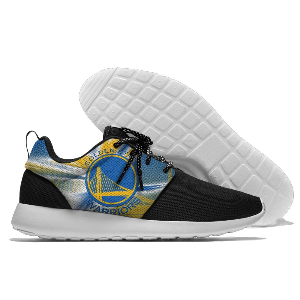 Men NBA golded state warriors Roshe style Lightweight Running shoes 6