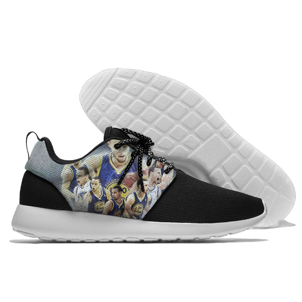 Men NBA golded state warriors Roshe style Lightweight Running shoes 7