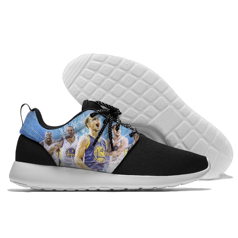 Men NBA golded state warriors Roshe style Lightweight Running shoes 8