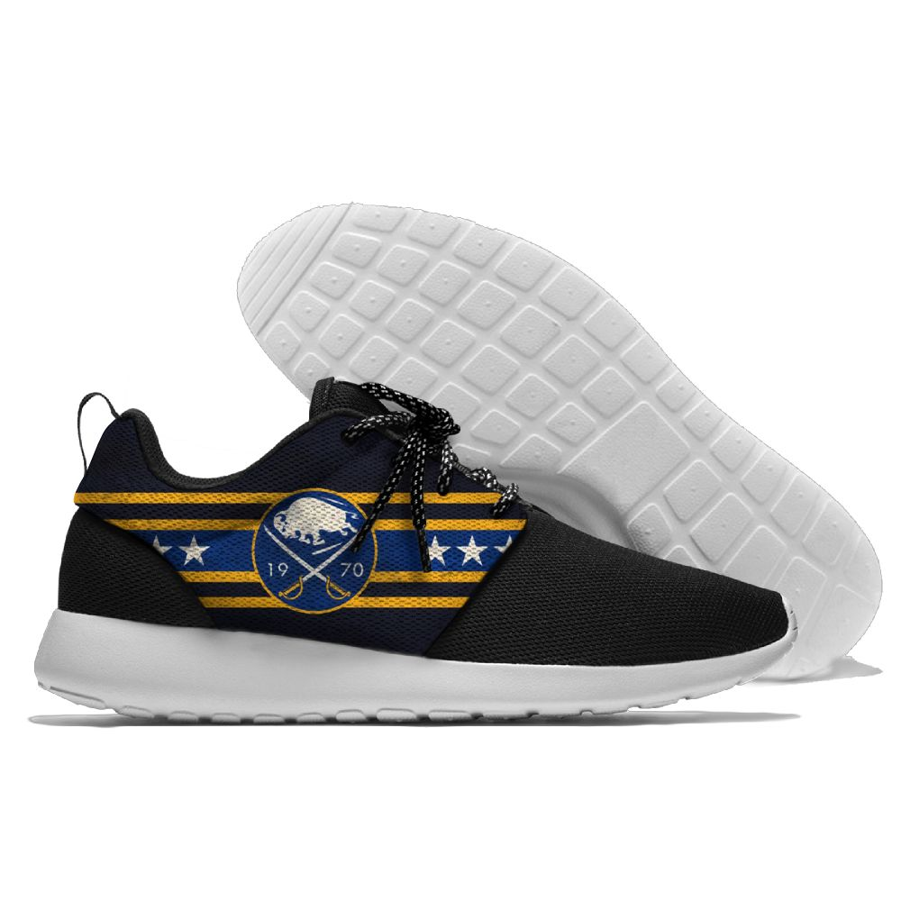 Men NHL Buffalo Sabres Roshe style Lightweight Running shoes 8