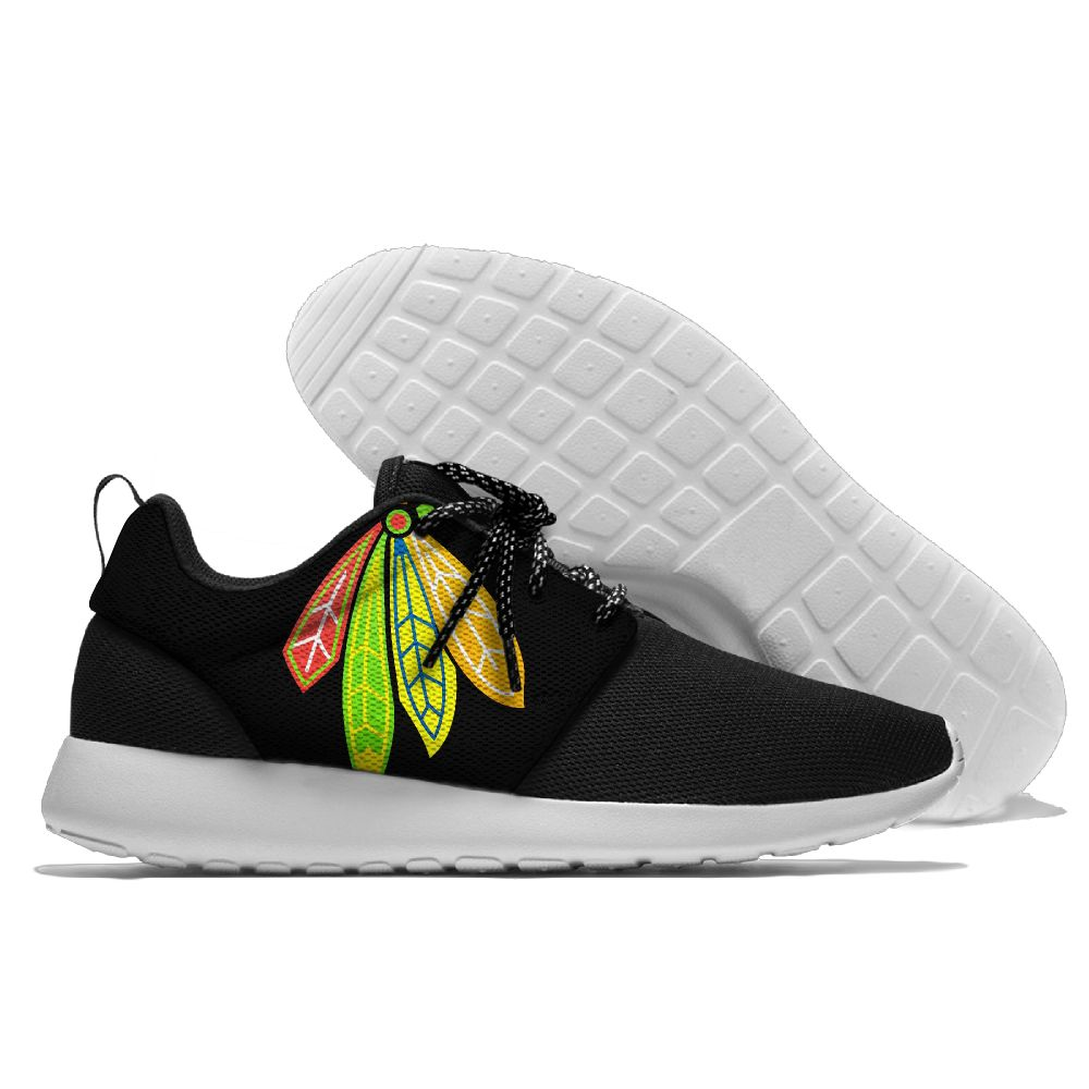 Men NHL Chicago Blackhawks Roshe style Lightweight Running shoes 10